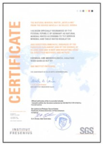 Сертификат Mivela Mg ++