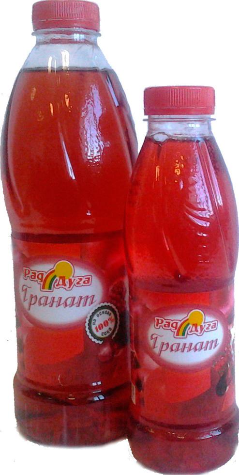 Напиток безалкогольный со вкусом граната негазированный 1,0л ПЭТ