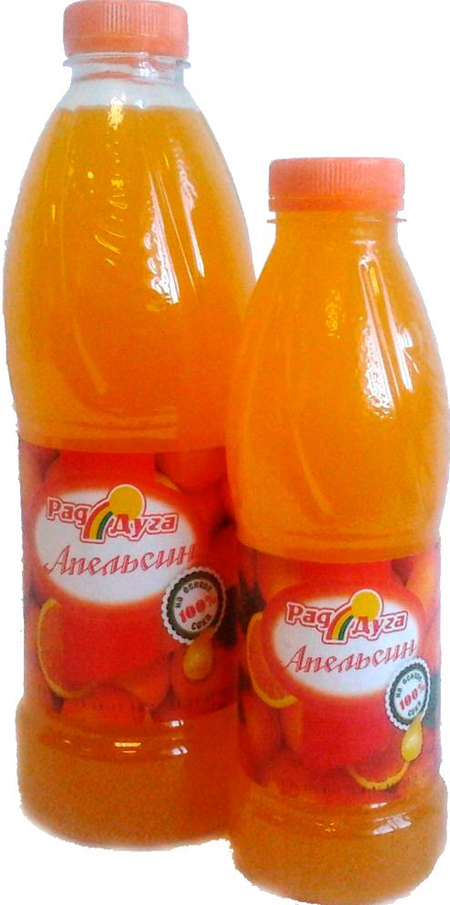 Напиток безалкогольный со вкусом апельсина негазированный 1,0л ПЭТ