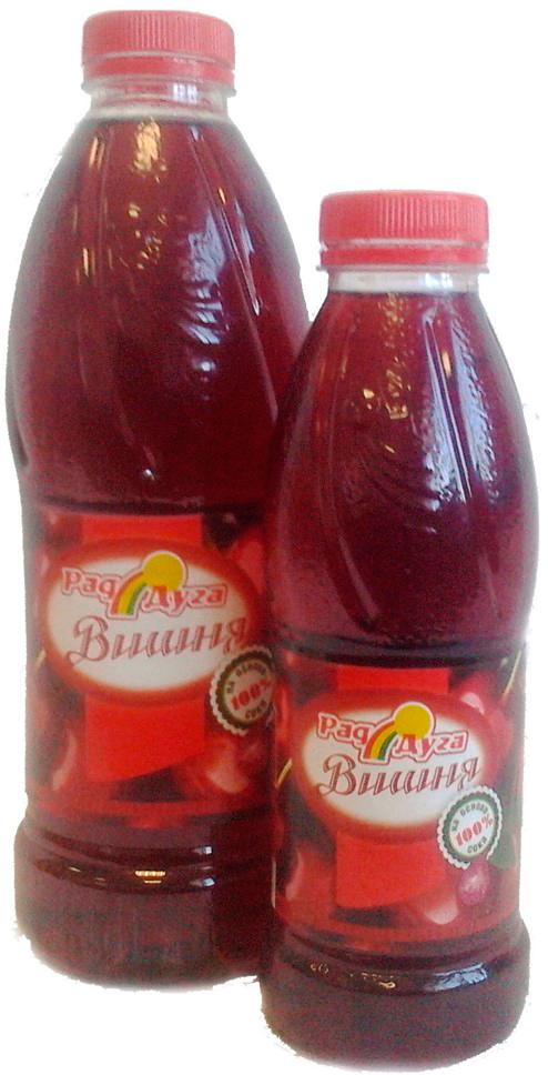 Напиток безалкогольный со вкусом вишни негазированный 1,0л ПЭТ