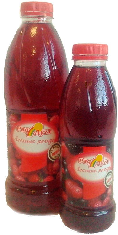 Напиток безалкогольный микс из лесных ягод негазированный 0,5л ПЭТ