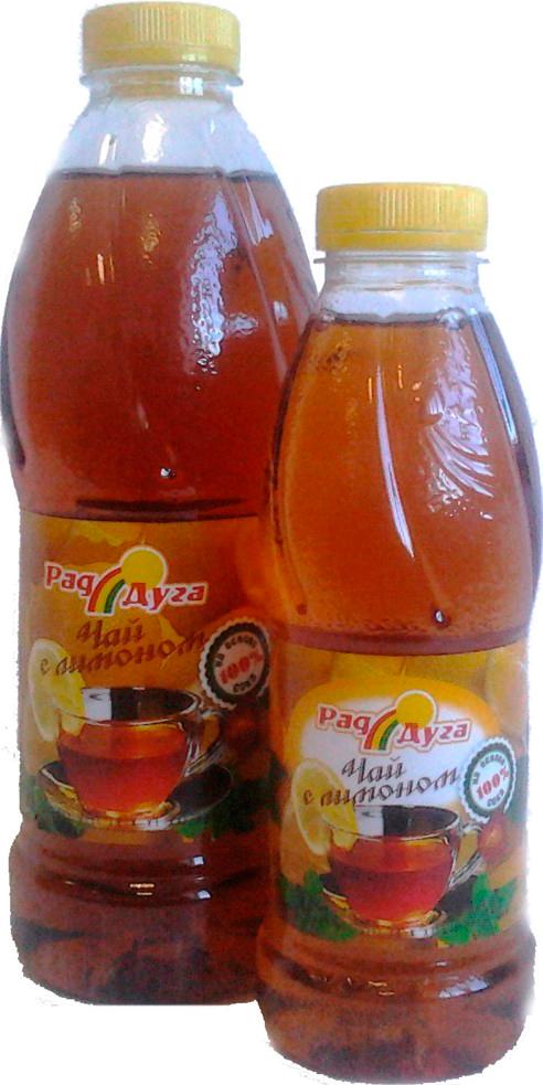 Напиток безалкогольный  чай со вкусом лимона негазированный 1,0л ПЭТ