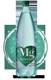Вода Mivela Mg++(Газированная); 1,5 л