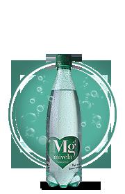 Вода Mivela Mg++(Газированная); 0.5 л.