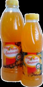 Напиток безалкогольный со вкусом ананаса негазированный 1,0л ПЭТ