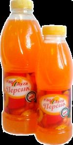 Напиток безалкогольный со вкусом персика негазированный 1,0л ПЭТ