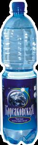 Чистая питьевая вода 1,5 л., артезианская 1-й категории
