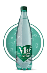 Вода Mivela Mg++(Газированная); 1 л.