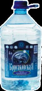 Чистая питьевая вода 5л, артезианская 1-й категории