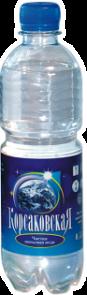 Чистая питьевая вода 1 л., артезианская 1-й категории